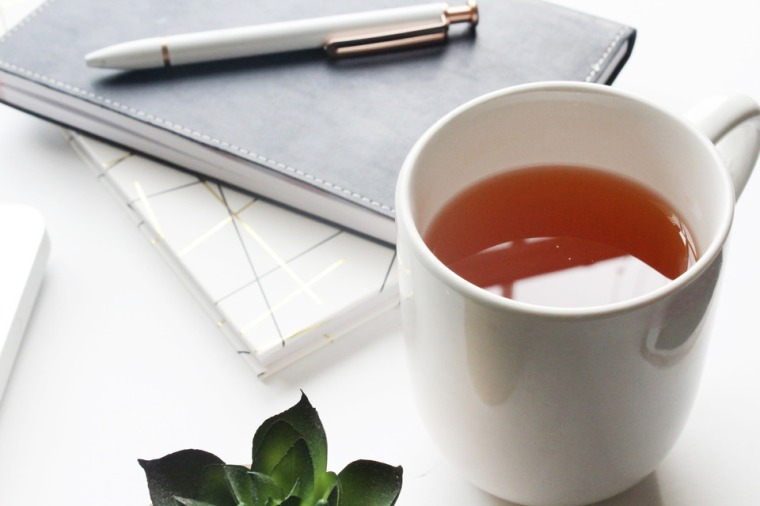 Createher Stock Styled Desk With Tea 11